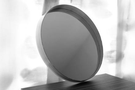 Miroir rond années 70