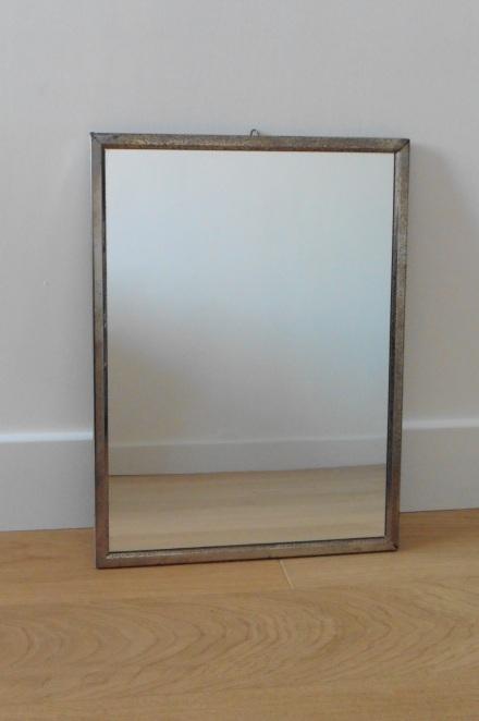 Miroir rectangulaire vintage